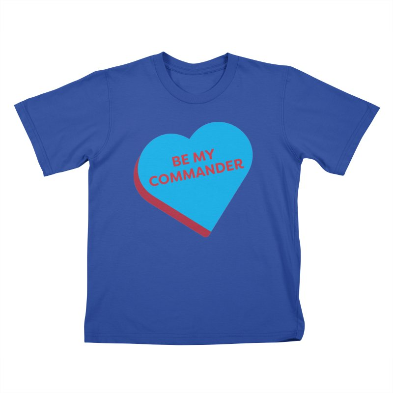 Be My Commander (Magic the Gathering Valentine - Commander) Kids T-Shirt by The Schwaggering