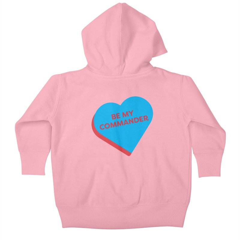 Be My Commander (Magic the Gathering Valentine - Commander) Kids Baby Zip-Up Hoody by The Schwaggering