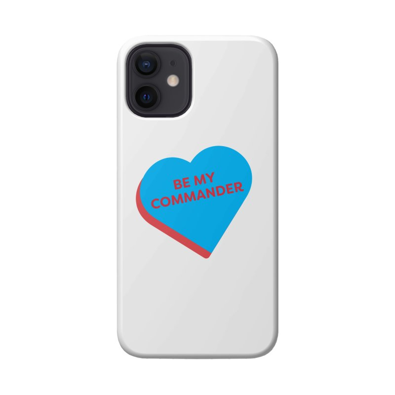 Be My Commander (Magic the Gathering Valentine - Commander) Accessories Phone Case by The Schwaggering