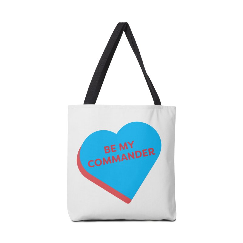 Be My Commander (Magic the Gathering Valentine - Commander) Accessories Bag by The Schwaggering