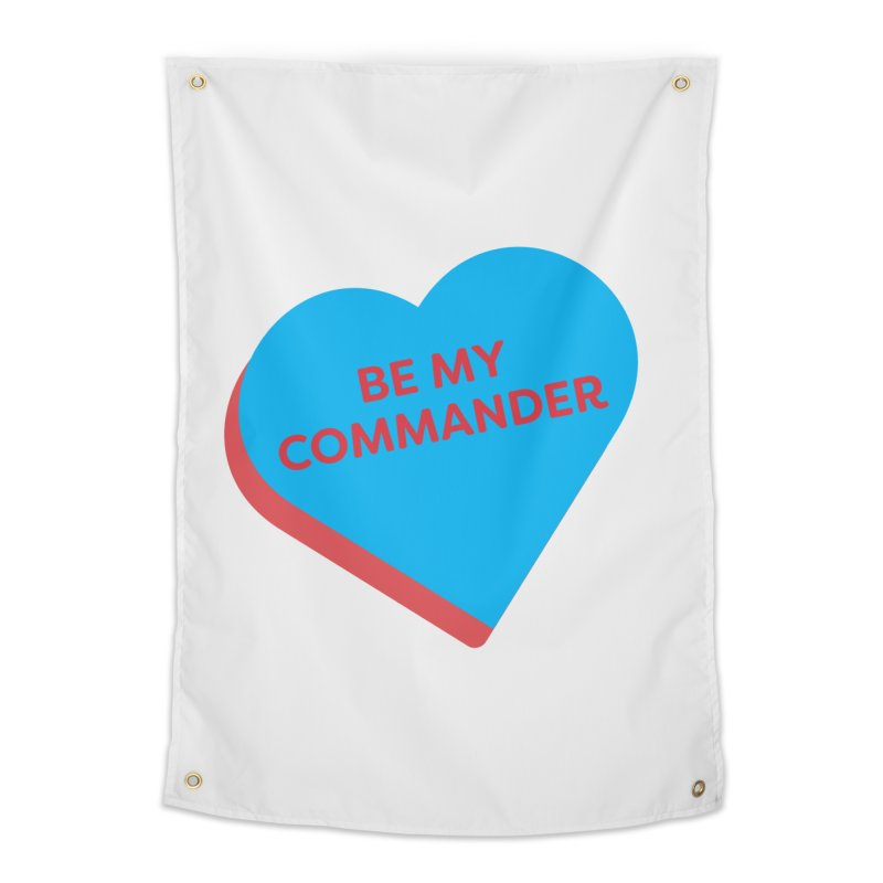 Be My Commander (Magic the Gathering Valentine - Commander) Home Tapestry by The Schwaggering