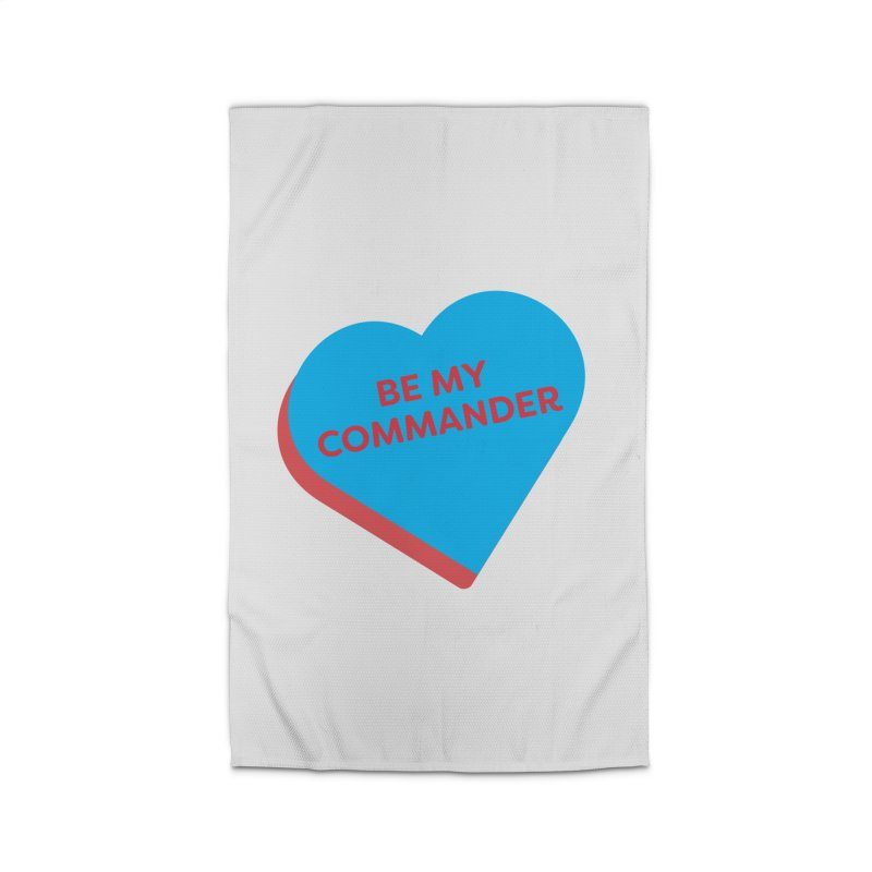 Be My Commander (Magic the Gathering Valentine - Commander) Home Rug by The Schwaggering