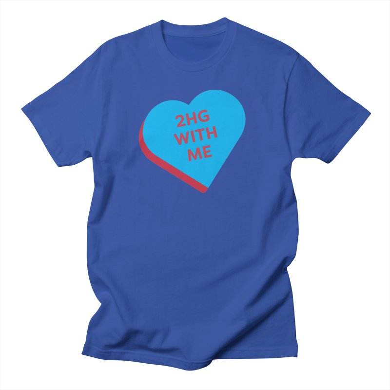 2HG With Me (Magic the Gathering Valentine - Two Headed Giant) Men's T-Shirt by The Schwaggering