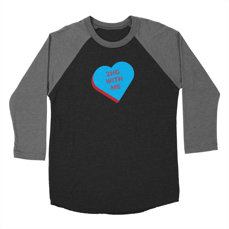 2HG With Me (Magic the Gathering Valentine - Two Headed Giant) Women's Longsleeve T-Shirt by The Schwaggering