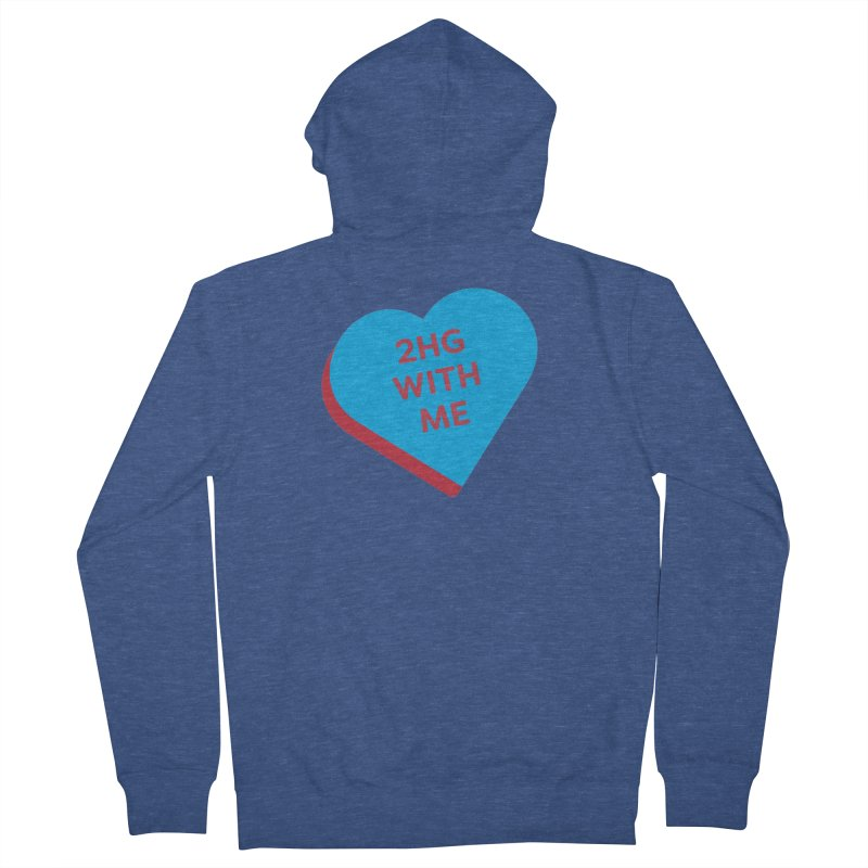 2HG With Me (Magic the Gathering Valentine - Two Headed Giant) Women's Zip-Up Hoody by The Schwaggering