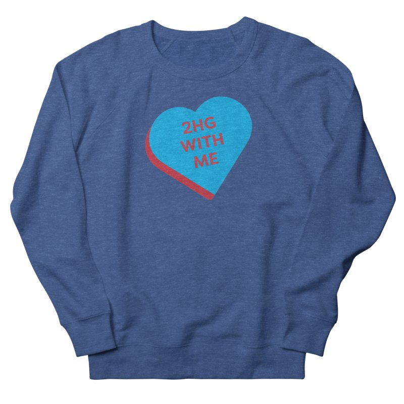 2HG With Me (Magic the Gathering Valentine - Two Headed Giant) Men's Sweatshirt by The Schwaggering