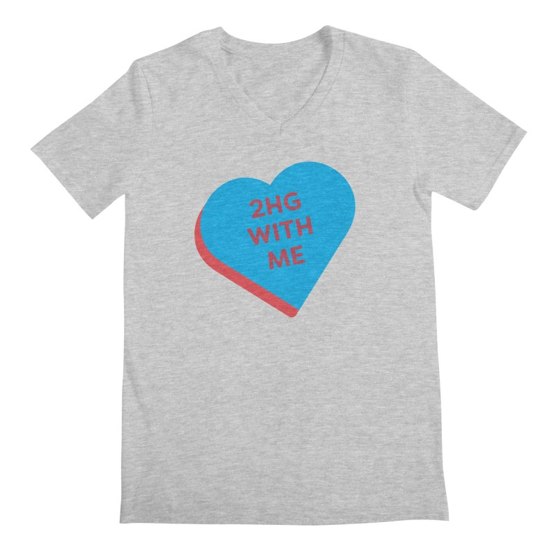 2HG With Me (Magic the Gathering Valentine - Two Headed Giant) Men's V-Neck by The Schwaggering