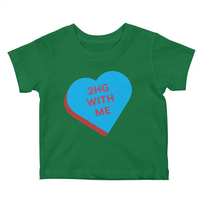 2HG With Me (Magic the Gathering Valentine - Two Headed Giant) Kids Baby T-Shirt by The Schwaggering