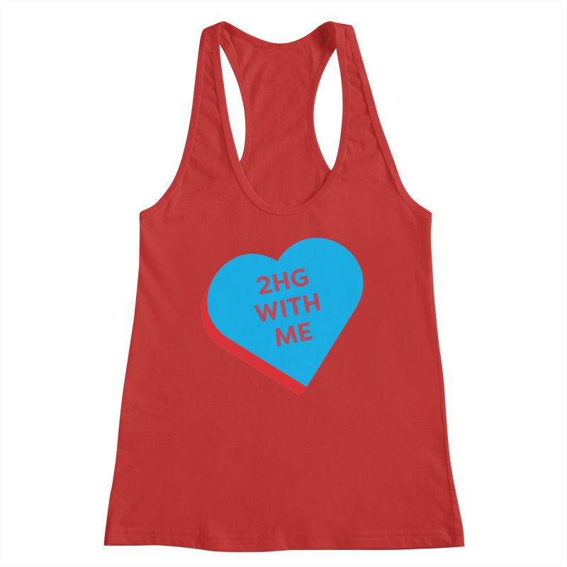 2HG With Me (Magic the Gathering Valentine - Two Headed Giant) Women's Tank by The Schwaggering
