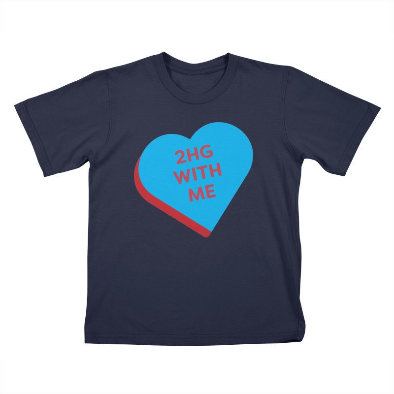 2HG With Me (Magic the Gathering Valentine - Two Headed Giant) Kids T-Shirt by The Schwaggering