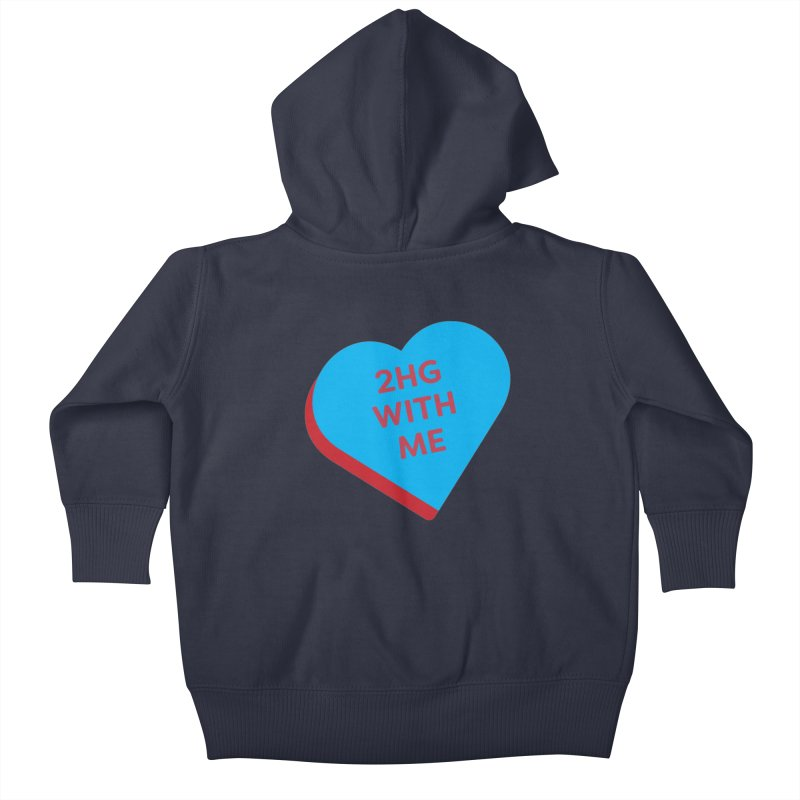 2HG With Me (Magic the Gathering Valentine - Two Headed Giant) Kids Baby Zip-Up Hoody by The Schwaggering