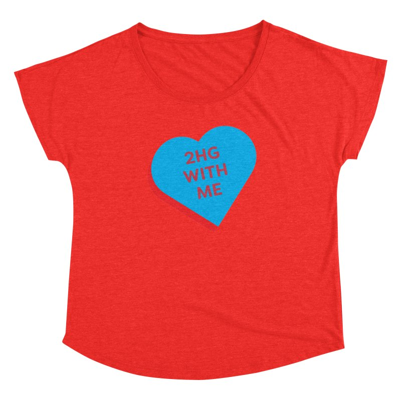 2HG With Me (Magic the Gathering Valentine - Two Headed Giant) Women's Scoop Neck by The Schwaggering