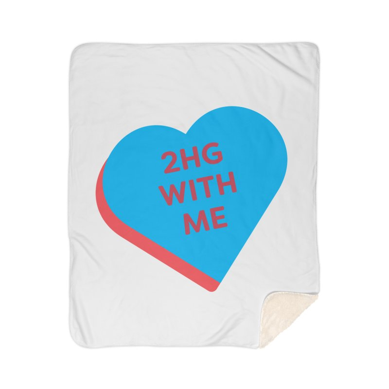 2HG With Me (Magic the Gathering Valentine - Two Headed Giant) Home Blanket by The Schwaggering