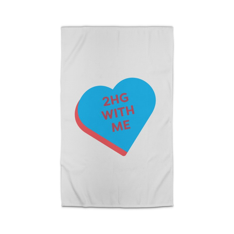 2HG With Me (Magic the Gathering Valentine - Two Headed Giant) Home Rug by The Schwaggering