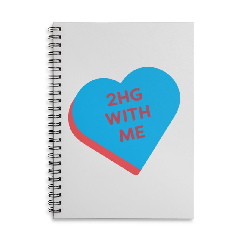 2HG With Me (Magic the Gathering Valentine - Two Headed Giant) Accessories Notebook by The Schwaggering