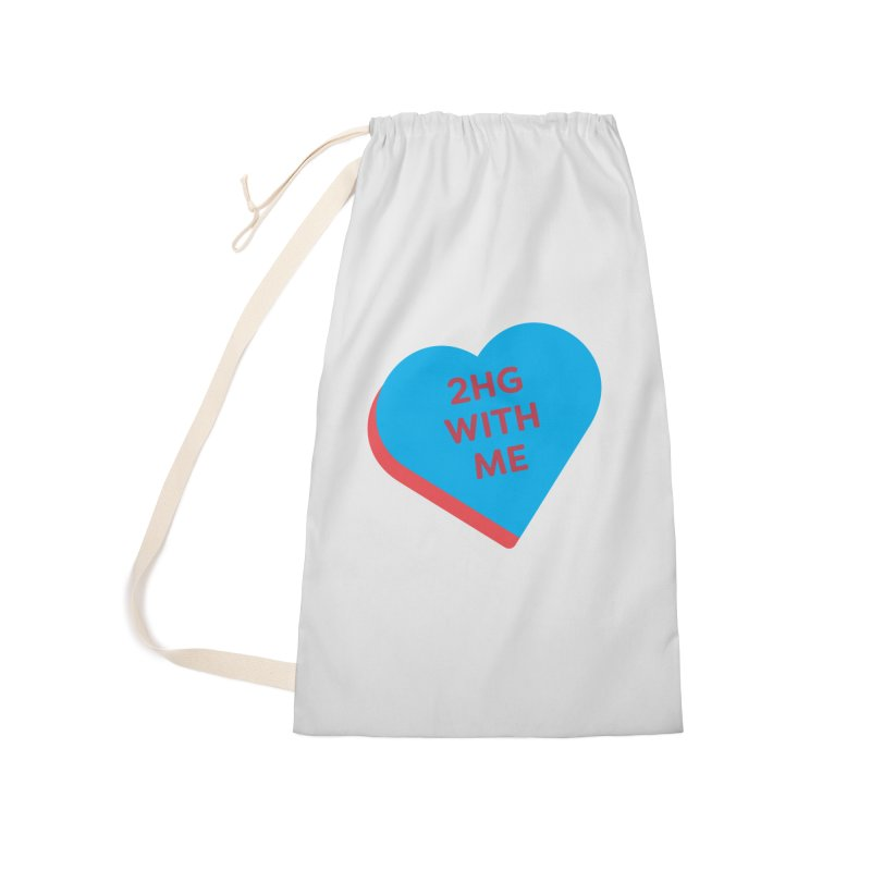 2HG With Me (Magic the Gathering Valentine - Two Headed Giant) Accessories Bag by The Schwaggering