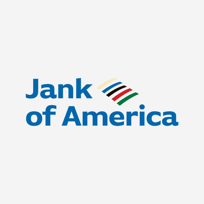 Jank of America Men's T-Shirt by The Schwaggering