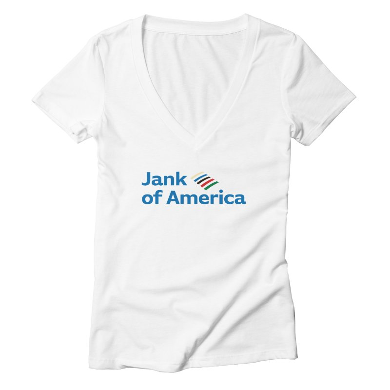 Jank of America Women's V-Neck by The Schwaggering