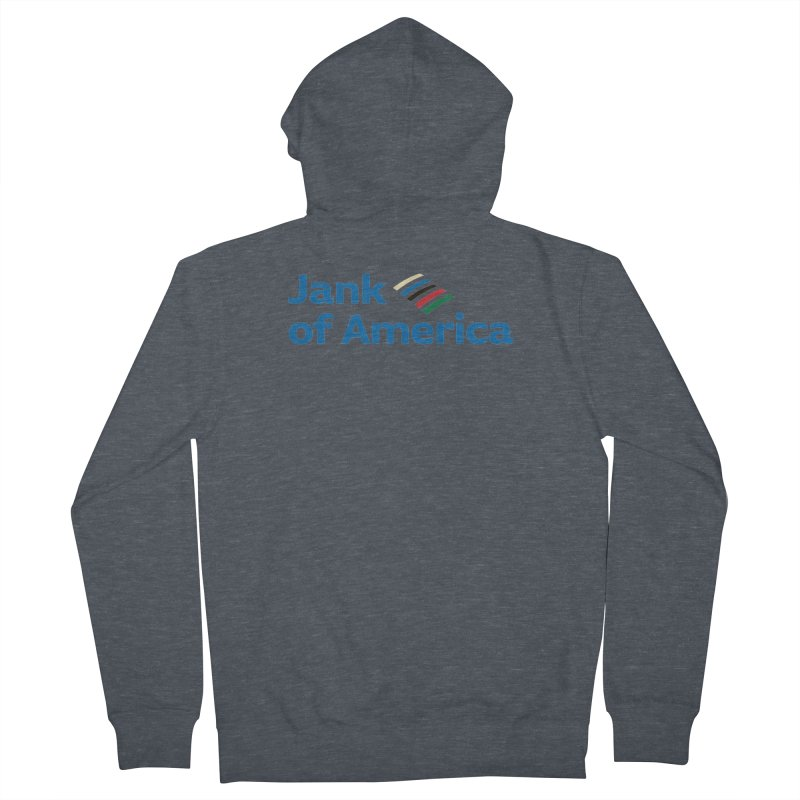 Jank of America Men's Zip-Up Hoody by The Schwaggering
