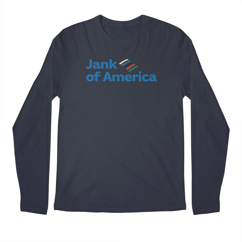 Jank of America Men's Longsleeve T-Shirt by The Schwaggering