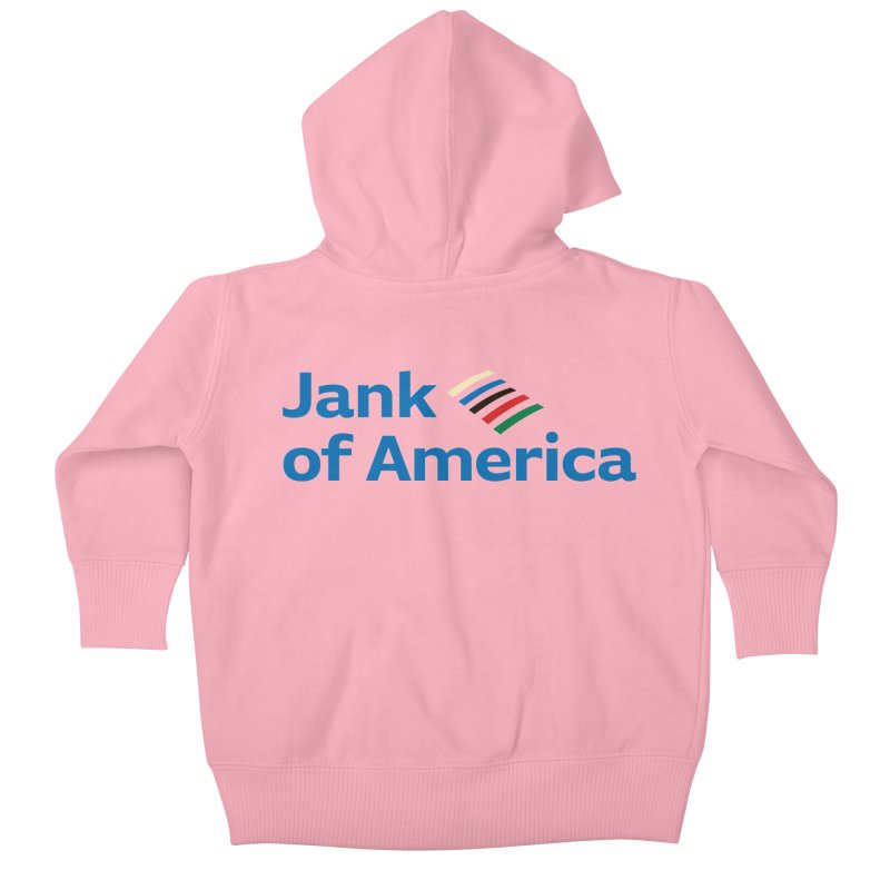 Jank of America Kids Baby Zip-Up Hoody by The Schwaggering
