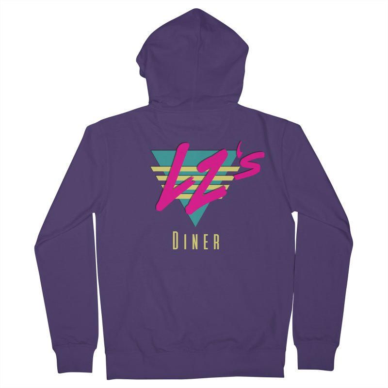LZ's Diner Women's Zip-Up Hoody by The Science Of