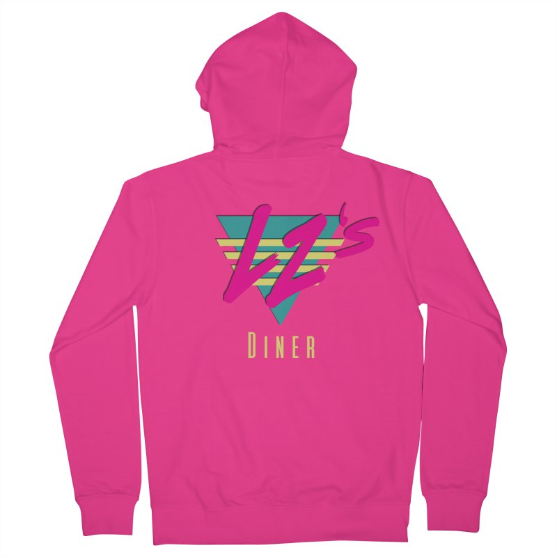 LZ's Diner Men's Zip-Up Hoody by The Science Of
