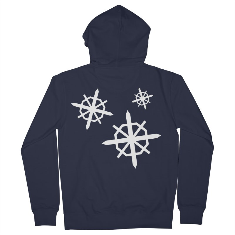 Snowfall Men's Zip-Up Hoody by The Science Of