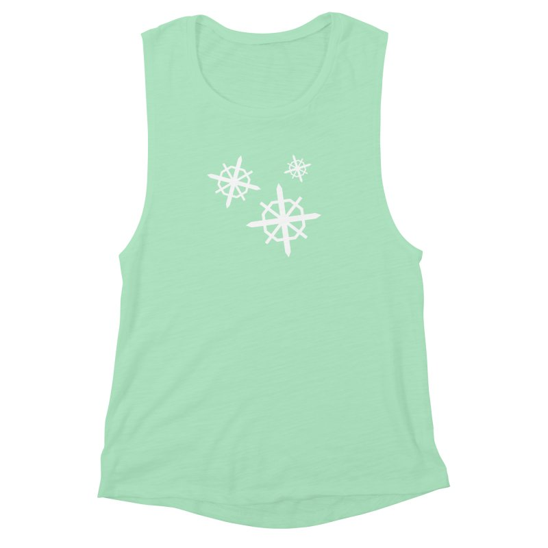 Snowfall Women's Muscle Tank by The Science Of