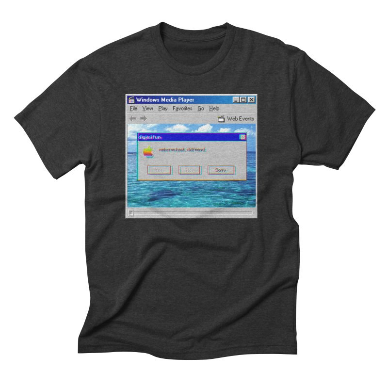 digitalfun.avi Men's Triblend T-shirt by The Science Of