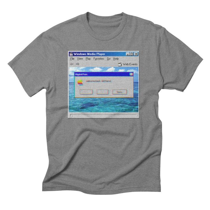 digitalfun.avi Men's Triblend T-Shirt by The Science Of
