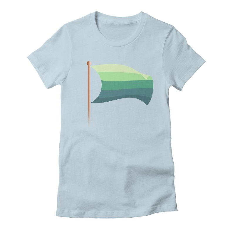 Surrender Women's Fitted T-Shirt by The Science Of