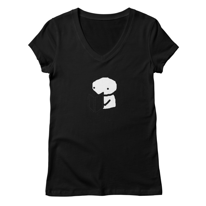Newspaper Women's V-Neck by The Science Of