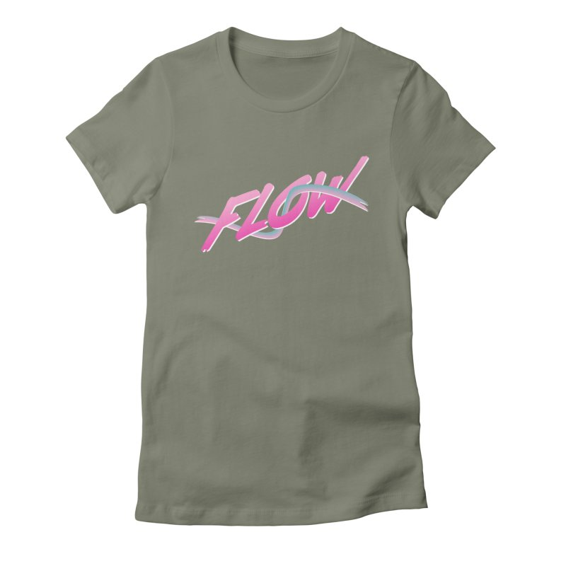 Flow Women's Fitted T-Shirt by The Science Of