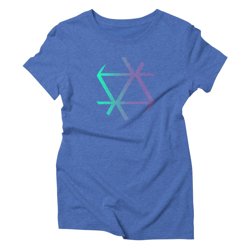 Nether Women's Triblend T-Shirt by The Science Of