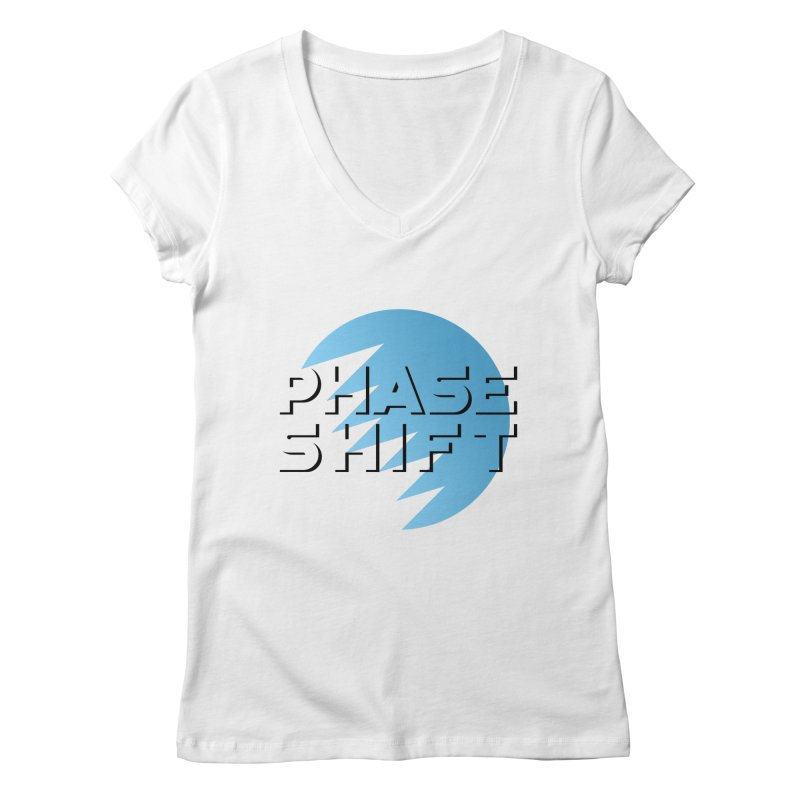 Phase Shift Women's V-Neck by The Science Of