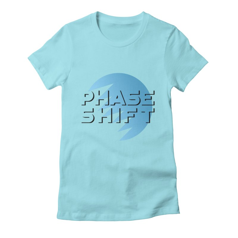 Phase Shift Women's Fitted T-Shirt by The Science Of