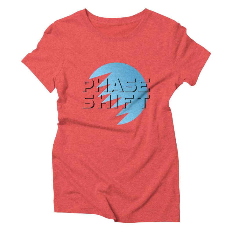 Phase Shift Women's Triblend T-shirt by The Science Of
