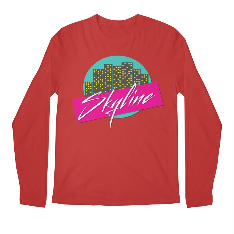 Skyline Men's Longsleeve T-Shirt by The Science Of