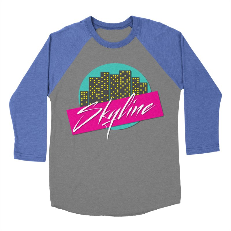 Skyline Men's Baseball Triblend T-Shirt by The Science Of