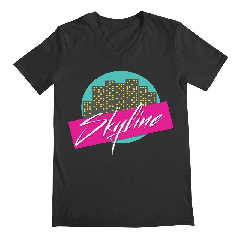 Skyline Men's V-Neck by The Science Of