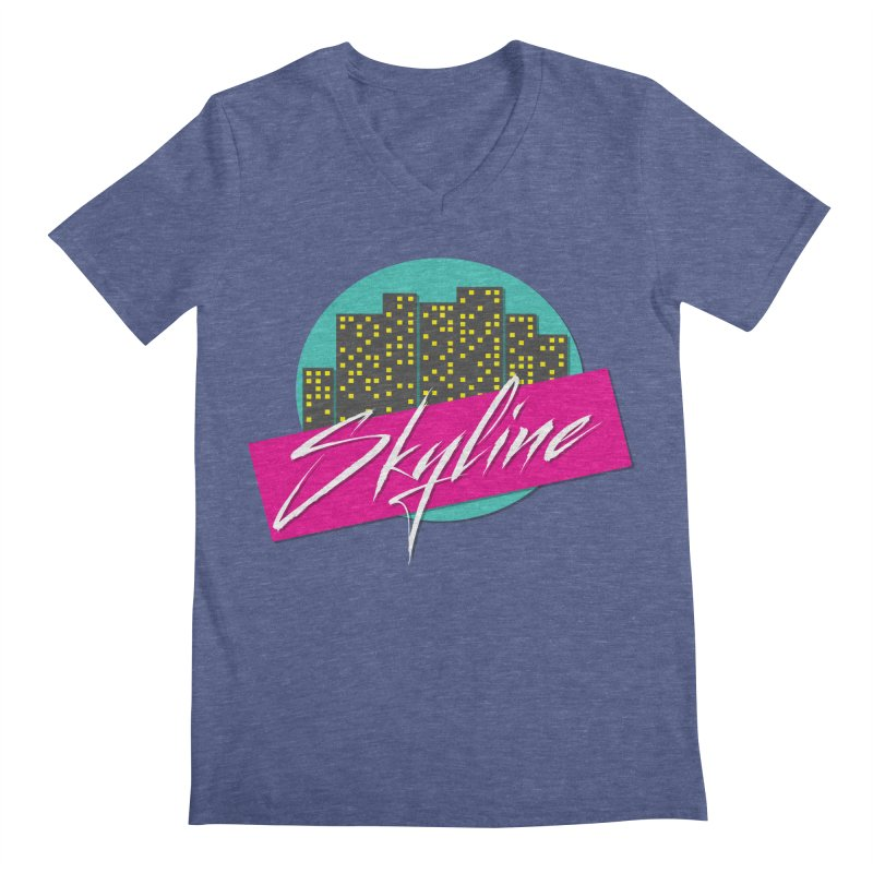 Skyline Men's V-Neck by The Science Of