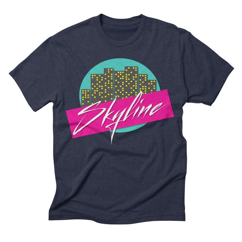 Skyline Men's Triblend T-shirt by The Science Of