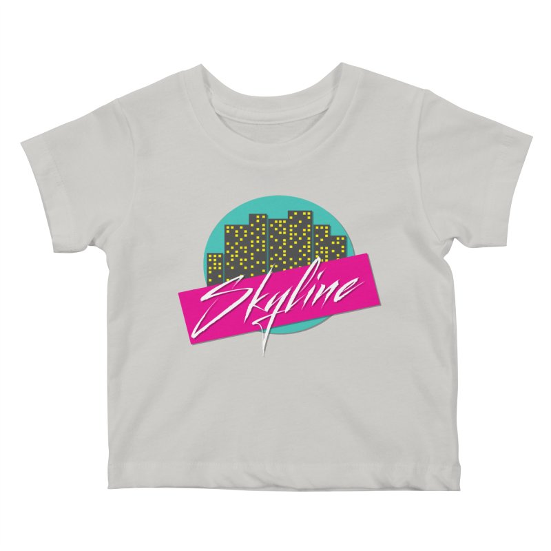 Skyline Kids Baby T-Shirt by The Science Of