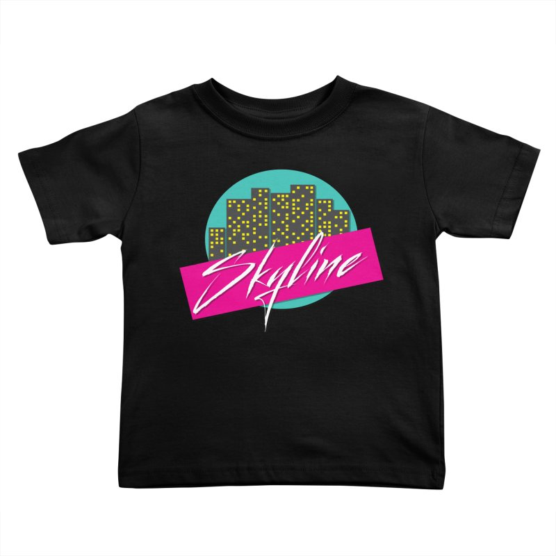 Skyline Kids Toddler T-Shirt by The Science Of