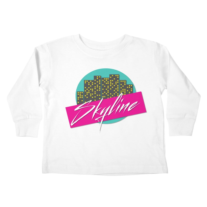 Skyline Kids Toddler Longsleeve T-Shirt by The Science Of