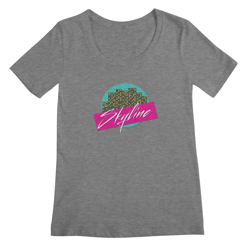 Skyline Women's Scoopneck by The Science Of