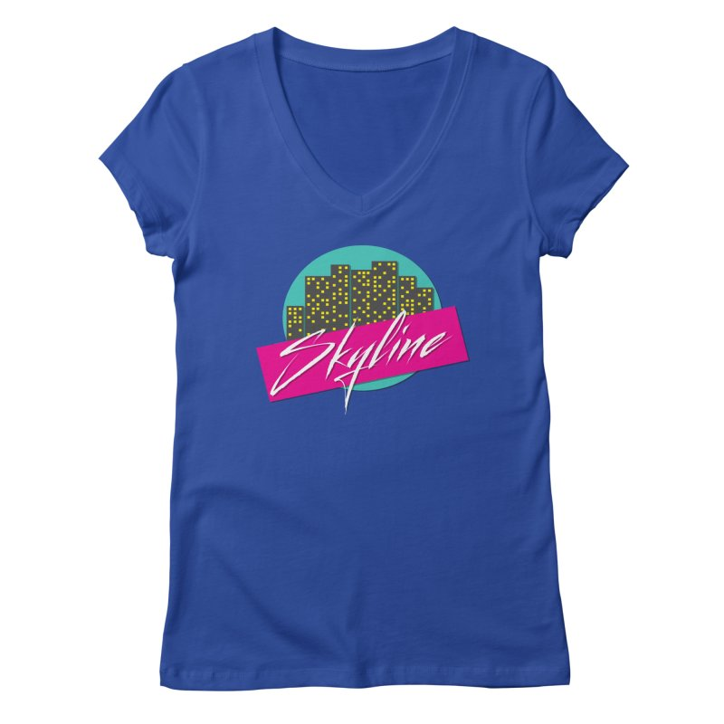 Skyline Women's V-Neck by The Science Of