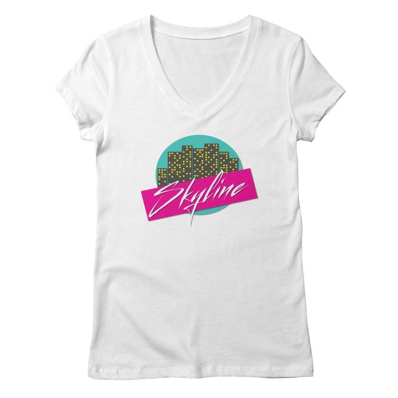 Skyline Women's V-Neck by The Science Of