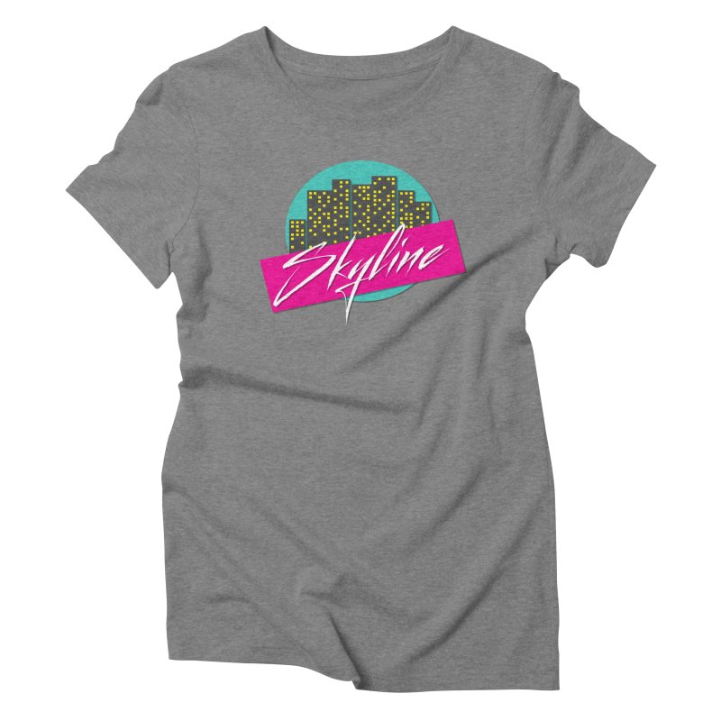 Skyline Women's Triblend T-Shirt by The Science Of